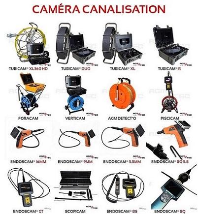 location camera inspection de canalisation