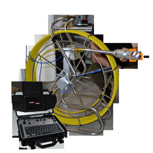 Caméra inspection canalisation rotative