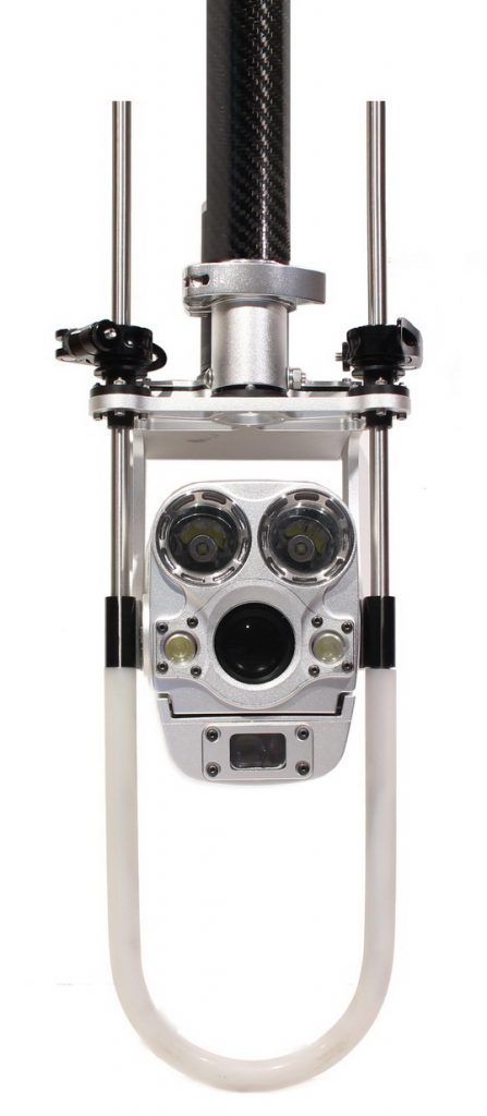 Caméra inspection égouts perche