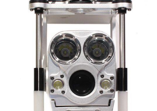 Caméra inspection d'égouts sur perche télescopique