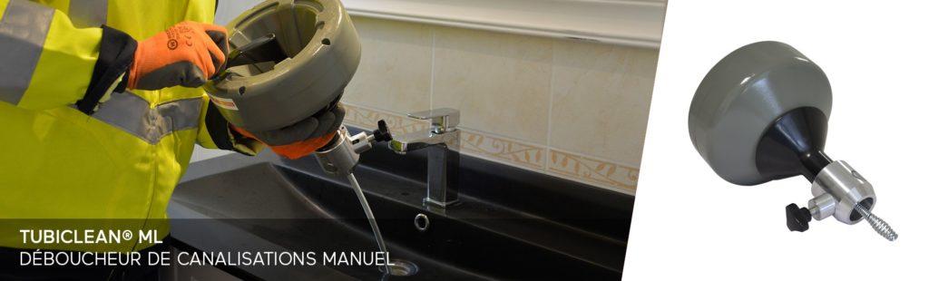 Déboucheur manuel professionnel pour canalisations
